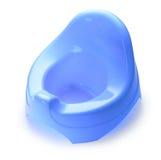 голубое potty Стоковое Фото