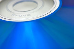 Голубое DVD Стоковые Изображения RF