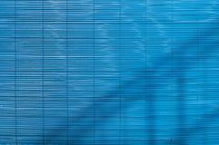 Голубой бамбуковый экран Стоковые Изображения RF