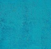 Голубой бетон стены с текстурами для предпосылки Стоковая Фотография