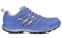 Голубой ботинок спорта Стоковые Изображения