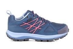 Голубой ботинок спорта Стоковое фото RF
