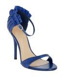 голубой ботинок Стоковое Изображение RF