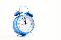 Голубой будильник Стоковая Фотография RF
