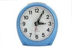 Голубой будильник Стоковое Изображение