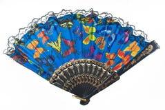 Голубой вентилятор Стоковые Изображения