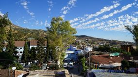 Голубой город в Марокко - Chefchaouen Стоковое Изображение RF