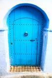 Голубой городок Chefchaouen Стоковые Фото