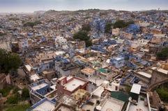 Голубой город Джодхпура, Индия Стоковые Фотографии RF