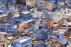Голубой город Джодхпура, Индия Стоковое Изображение