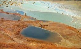 Голубой горячий источник Стоковая Фотография RF