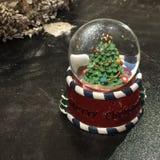 голубой глобус рождества Стоковое фото RF