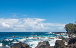 голубой глубокий океан Стоковое Фото