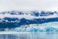 Голубой лед ледника Hubbard Стоковые Изображения RF
