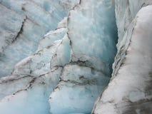 голубой ледниковый лед Стоковое фото RF