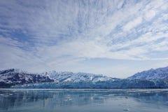 Голубой ледник в летнем времени Стоковые Фото