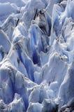 Голубой лед Стоковое Изображение