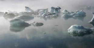 Голубой лед Стоковые Фотографии RF