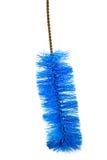 голубой запиток тарелки щетки Стоковые Фотографии RF