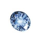 голубой диамант стоковое фото