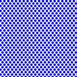 Голубой дизайн точки на белизне Стоковые Изображения