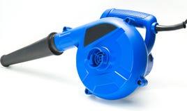 Голубой инструмент воздуходувок стоковая фотография
