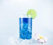 Голубой коктеил Гаваи Стоковая Фотография RF