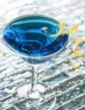 Голубой коктеиль Стоковое Фото