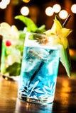 Голубой коктеил Стоковые Изображения RF