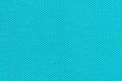 Голубой конец текстуры ткани вверх, который нужно использовать как предпосылка стоковая фотография rf