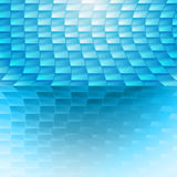 Голубой конспект Иллюстрация вектора