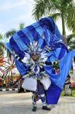 Голубой костюм Стоковая Фотография RF