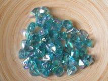 голубой кристалл Стоковые Фотографии RF