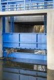 Голубой механизм Стоковые Изображения RF