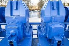 Голубой механизм Стоковые Фотографии RF
