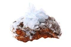 голубой минерал барита Стоковые Фотографии RF