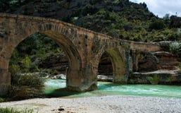 голубой мост Стоковое фото RF