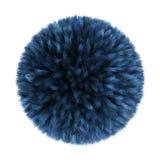 Голубой мягкий шарик Стоковое Изображение RF