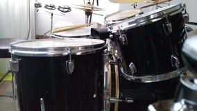 голубой набор барабанчика Стоковое фото RF