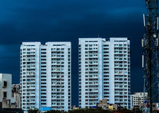 голубой дождь Стоковое Изображение