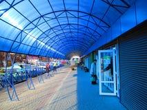 Голубой павильон, Kamenets Podolskiy, Украина Стоковое Изображение RF