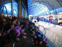 Голубой павильон, Kamenets Podolskiy, Украина Стоковая Фотография