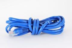 Голубой провод данных Стоковые Фотографии RF