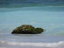 Голубой пляж моря стоковая фотография rf