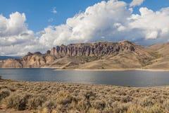 Голубой резервуар мезы стоковая фотография