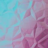 Голубой розовый абстрактный геометрический график дизайна предпосылки иллюстрация вектора