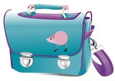 Голубой рюкзак Стоковое Фото