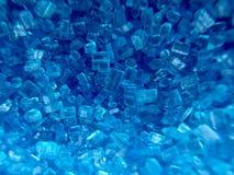Голубой сахар Стоковое фото RF
