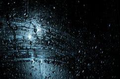 Голубой свет в ноче Стоковое фото RF