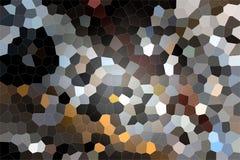 Голубой сот с темными частями Стоковое фото RF